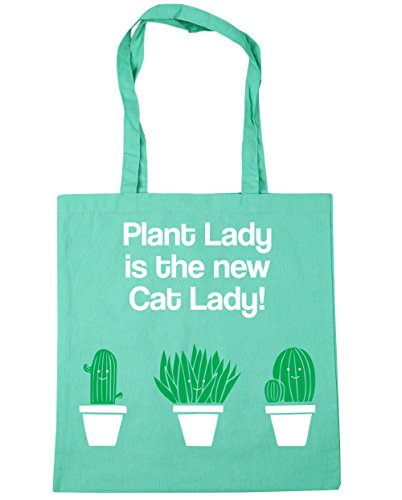 Plant Bag 10 HippoWarehouse Cat Shopping Gym litres New is Lady Mint 42cm Beach x38cm The Lady Tote dq4wrqBPn6