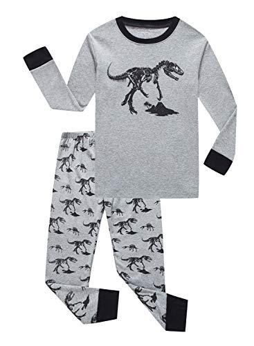02258a7377 Family Feeling Truck Little Boys Kids Pajamas Sets 100% Cotton Pjs Toddler
