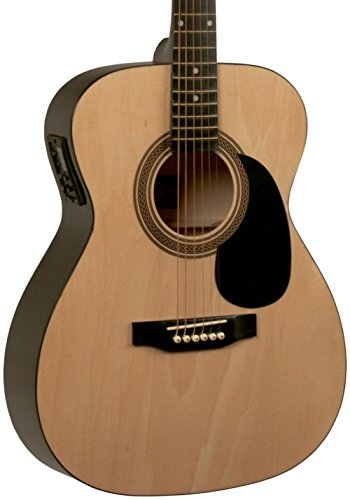 Rogue RA-090 Concert Acoustic-Electric Guitar Natural