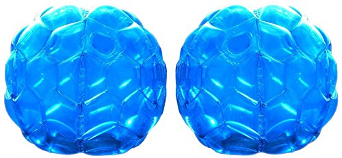 Gobrobrand Bumper Ball Inflatable Body Bubble  Sumo Bopper Balls for age 5 - 18  –  2 Pack