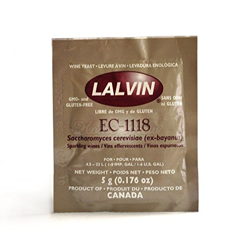 lalvin sparkling wine yeast ec 1118 sachet 5g ideal for making cider and champagne style wines. Black Bedroom Furniture Sets. Home Design Ideas