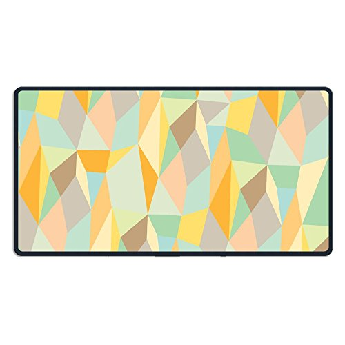 Trendy Edge Fine (JXHDBY Mouse Mat Trendy Abstract Non-Slip Rubber Comfortable Mouse Mat/Pad With Stitched Edges(0.24 Inch) For Laptop,Computer And PC,15.7x29.5x0.12 Inch)
