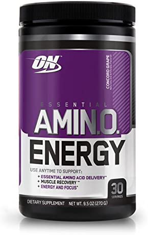 Optimum Nutrition Essential Amino Energy, Concord Grape 0.6 lb 270 g