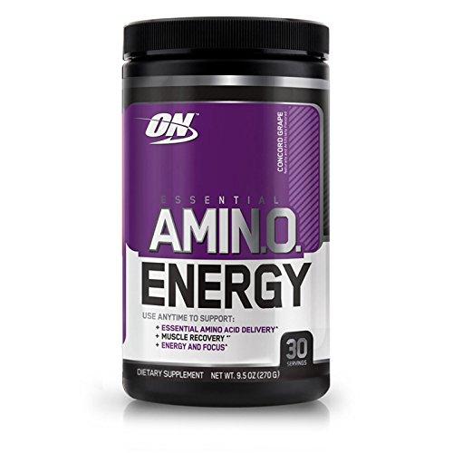 Optimum Nutrition Essential Amino Energy, Concord Grape 0.6 lb (270 g) (Grape Energy)