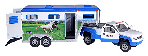 Breyer Stablemates Truck & Gooseneck Trailer (1: 32 Scale), Multicolor
