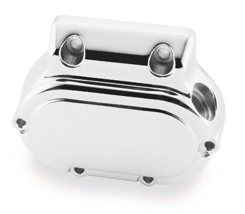 Twin Power Chrome Transmission Side Cover for Harley Davidson 2000-06 Softail,