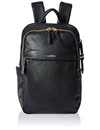 Tumi Women's Voyageur Leather Daniella Small Backpack, Black, One Size