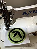 Axis Single Needle Chain Stitch Embroidery Machine