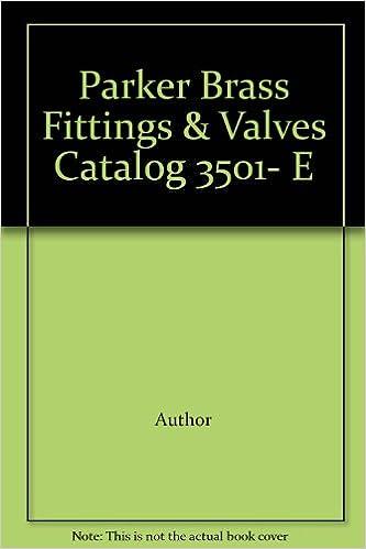 PARKER BRASS CATALOG 3501E PDF DOWNLOAD