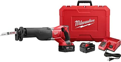 Milwaukee 2621-22 M18 Sawzall Reciprocating Saw W2 Bat