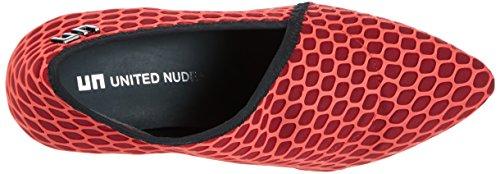 Unito Nude Damen Fold Lite Hi Pump Rot (silicio Rosso)
