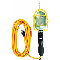 Yellow Jacket 2893 16/3 SJTWTrouble Light Work Lights with Meta