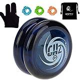 MAGICYOYO Looping 2A Yo-yo D1 GHZ Poly Carbonate Plastic Yo-yo with 5 Durable Yoyo Strings