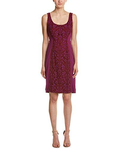 Diane von Furstenberg Women's Geovana Lace Dress, Purple Amethyst/Red Onyx, - Dress Red Furstenberg Diane Von
