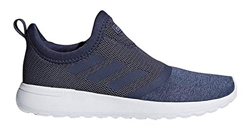 adidas Womens Cloudfoam Lite Racer Slip on Running Shoes TRABLU/TRABLU/TECINK (8 M US)