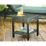 Hampton Bay Fenton D9131-TS Heavy-duty Steel Frame Patio Side Table