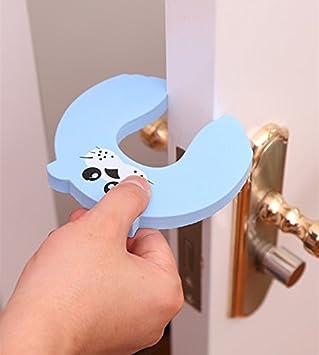 Doyime 5X doigts de s/écurit/é pour le protecteur de porte avec pince bout /à bout pour b/éb/é