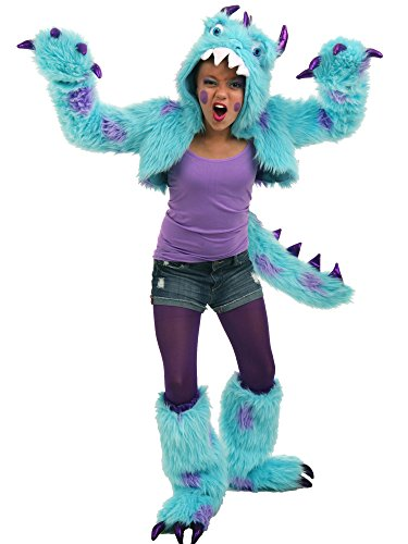 Monster Inc Girl (Princess Paradise Sullivan the Monster Shrug Costume Set, Multicolor, Tween 10/12)