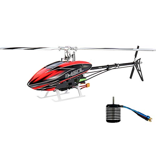 JCZK Assault 450L DFC 6CH 3D Flybarless RC Helicopter Kit with Brushless - Brushless Motor 450l