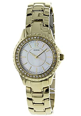 GUESS Analog Gold Dial Women's Watch - W0014L2