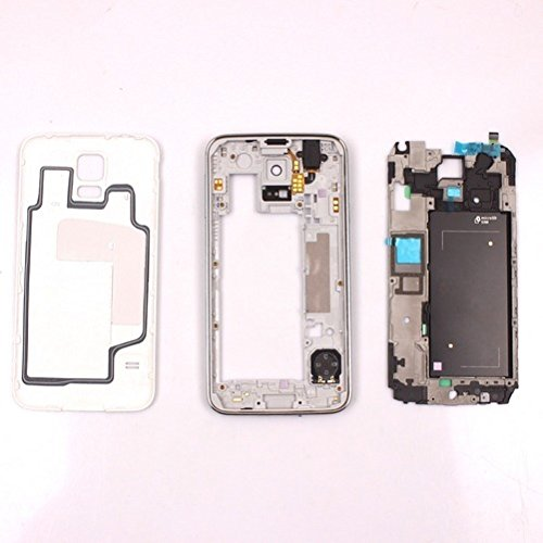 - OEM Home Front Middle Frame Housing Back Cover Assembly For Samsung Galaxy S5 G900F (Gold)