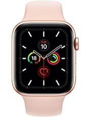 Apple Watch Series 5 44mm Gold AL Pink Sand Sport Band (GPS+Cell) Model A2157