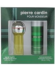Pierre Cardin - Parfum Homme - Coffret pour Monsieur Eau de Toilette 75 ml + Déodorant 200 ml - Cadeau Homme - Coffret Homme - Vaporisateur Parfum - Coffret Parfum