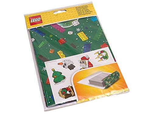 Lego Wrapping Paper