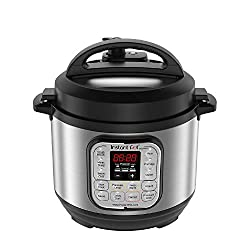 Instant Pot Duo Mini is the ideal companion to the Duo 6 Quart, 7-in-1 programmable multi-cooker replaces 7 kitchen appliances, combines the functions of a Rice Cooker, Pressure Cooker, Slow Cooker, Steamer, Sauté, Yogurt Maker, and Warmer. 11 smart ...