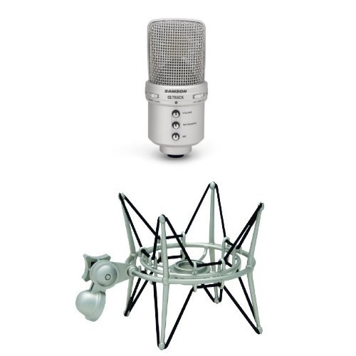 G-track Usb Mic (Samson G Track Microphone with Shockmount)