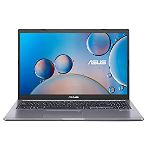 "ASUS VivoBook 15 F515 Thin and Light Laptop, 15.6"" FHD Display, Intel Core i3-1005G1 Processor, 4GB DDR4 RAM, 128GB PCIe SSD, Fingerprint Reader, Windows 10 Home in S Mode, Slate Grey, F515JA-AH31"