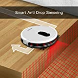 Robotic Vacuum Cleaner Higher Suction for Carpets