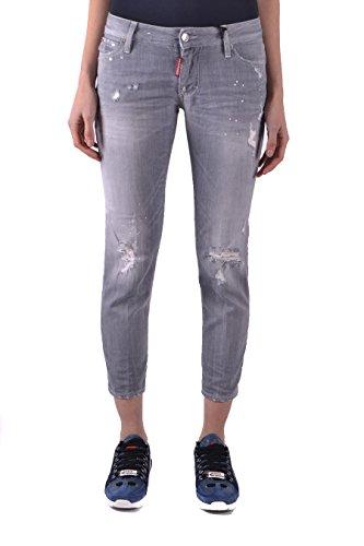 S75la0968s30260852 Donna Grigio Cotone Jeans Dsquared2 x7wZF7E