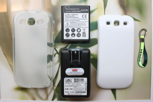 4300mAh Extended Battery Cover Compatible