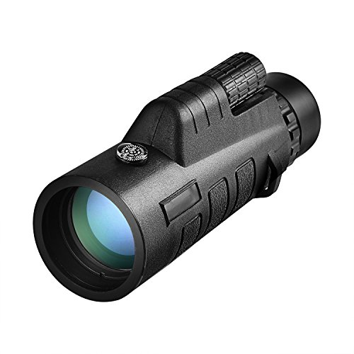 CVLIFE 12x50 Compact Monocular Telescope Pocket Mono Spotting Scope With Compass and Pouch For Concert, Hunting, Camping, Bird Watching
