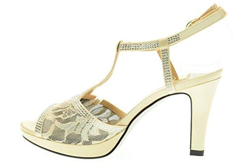 O6 MILAN CHAMPAGNE sandalias de la mujer SA0335 Champagne