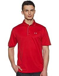 Polo Tech para Hombre  - Under Armour, 1290140-600, Rojo, X-Grande