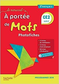 Descargar Libro Electronico Le Nouvel A Portée De Mots Ce2 - Photofiches + Cd - Edition 2019 It Epub
