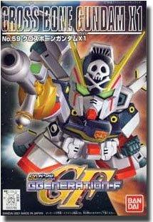 クロスボーンガンダムX1 「SD ガンダム G-GENERATION-F」 No.59の商品画像