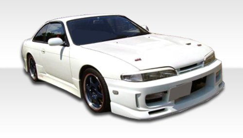 1995-1996 Nissan 240sx Duraflex Cspeed Kit - Includes C-Speed Front Bumper (103557) , C-Speed Rear Bumper (103560) , and C-Speed Sideskirts (103559). - Duraflex Body Kits