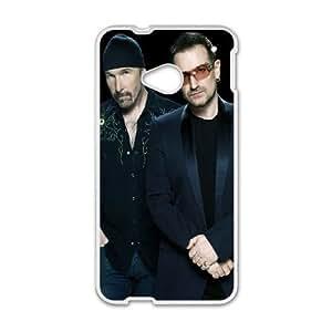 HTC One M7 Cell Phone Case White U2 SU853992