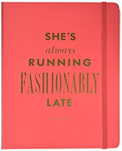 Kate Spade New York 17-Month Large Agenda Academic Calender - Fashionably Late, 173049