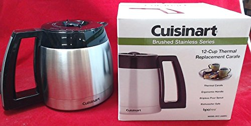 Cuisinart DCC-2400RC 12-Cup Stainless Thermal Carafe for DGB-900BC, DCC-2400 and DCC-2700, Black