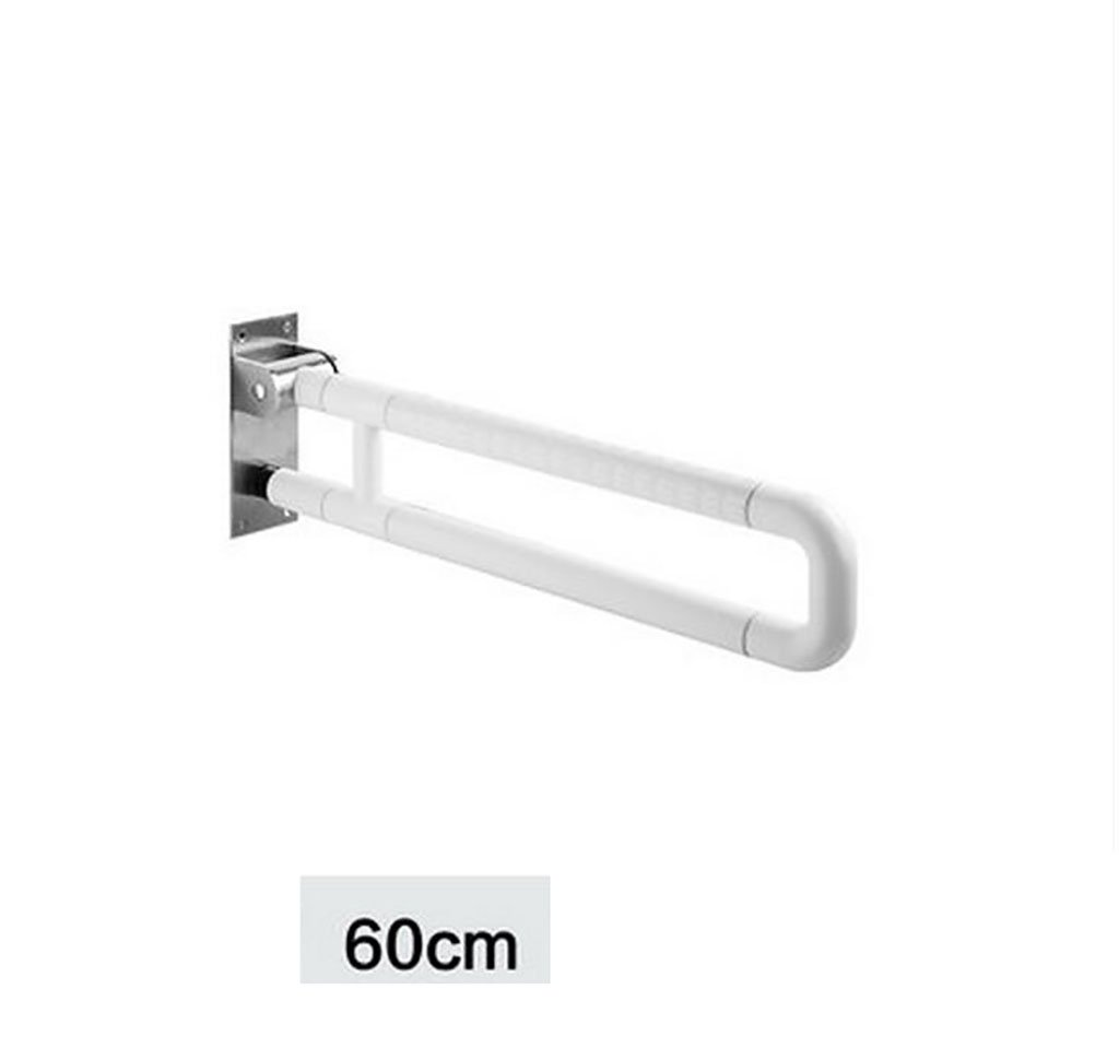 FAFZ Bathroom Anti-skid Armrest, Bathroom Disabled Toilet Handle Handle, Old Man Safe Bath Folding Handrail (Color : 1) by FAFZ