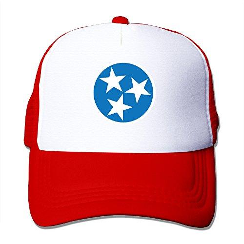 Tennessee Flag Mesh Trucker Hat