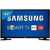 "TV LED 49"" FHD Smart, Samsung UN49J5200GXZD, Preto"