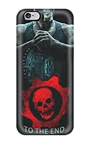 Premium CgaPTNX5325rokuh Case With Scratch-resistant/ Gears Of War Case Cover For Iphone 6 Plus WANGJING JINDA