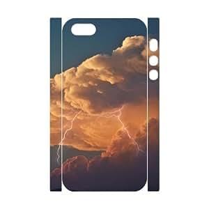 LIGHTNING CHA6052821 3D Art Print Design Phone Back Case Customized Hard Shell Protection Iphone 5,5S