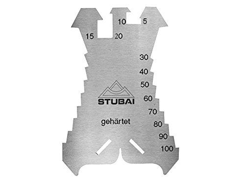 Stubai 278601 Segnalamiera Temperata a 1.3 mm 140 x 100 mm