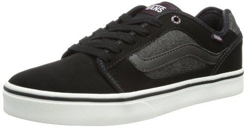 Vans Torer (h13 Buck) Heren Skateboarden Schoenen Zwart / Paars Zwart / Paars